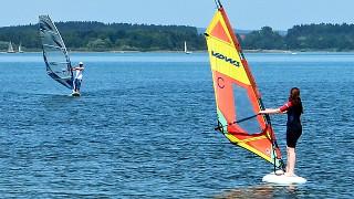 surfen an der Ostsee